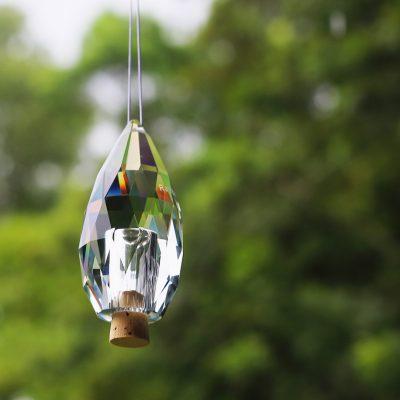 Memorial garden crystal keepsake pet loss